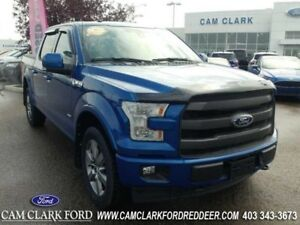 2017 Ford F-150 Lariat  Moonroof Power Boards Tonneau
