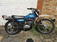 1974 Yamaha DT175 Trials Bike Project 2420 Miles From Canada UK Registered