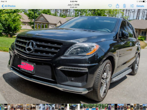 2014 Mercedes ML63 AMG... low Km, Excellent condition