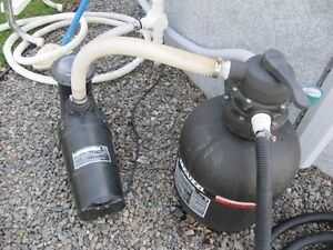 equipement complet de filtre de piscine