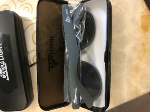 Cool light sunglasses with colour lenses brand new