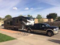 Caravan 5th wheel trailer 2016