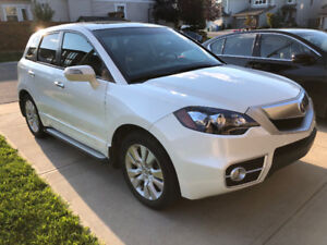 2011 Acura RDX TECH - White - SH-AWD