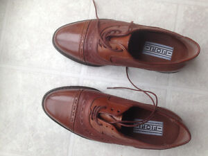 Men's New Leather Shoes Made in Italy