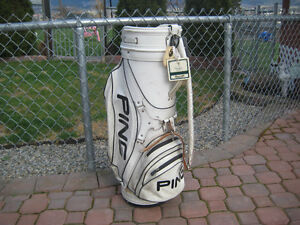 Classic Leather Ping Staff Bag