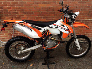 2015 KTM 350 EXC-F blue plated with $3000+ in extras