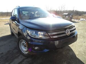 Parting Out 2014 VW Tiguan