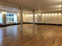 Yoga, Pilates, Zumba Studio To Hire By The Hour £25