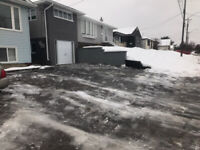 Snow removal on Demand Save$$
