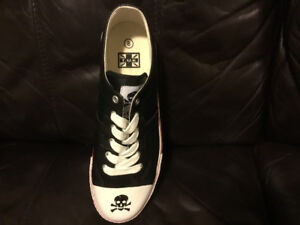 T.U.K. Shoes with Skull and Crossbones **New in box**.