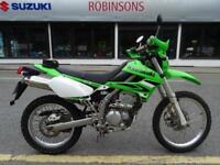 2009 58 Reg Kawasaki KLX250 S9F 4261 miles