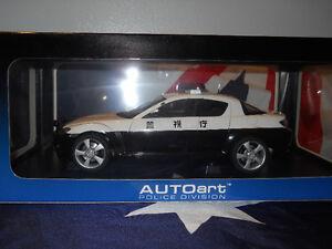 1/18 Autoart Diecast Mazda RX-8 Police Car