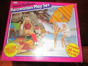 "SEARS mid-1980s  ""Barbie-Style"" Recreation Play Set"