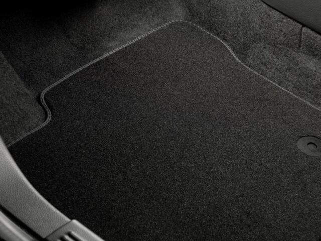 Genuine Ford Galaxy Premium Velour Car Mats - 3rd seat row in Black (1383097)