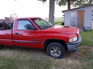 Ram truck for parts or scrap