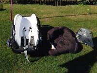 Maxi Cosi Car/baby seat