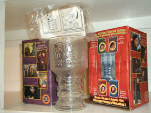 2001LordOfTheRingsFellowshipCollectionGlassGoblets/each for