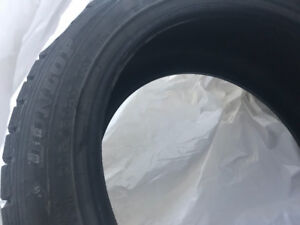 Dunlop Winter Maxx Tires used on Audi A3 205/50/R17