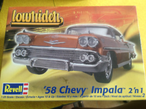 Chevy Impala 1958 auto à assembler Revell 2 in 1 scale 1/25 July