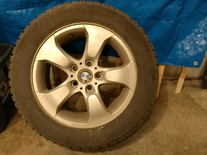 BMW X3 set of rims and tires