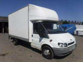 FORD TRANSIT 350 LWB AUTOMATIC LUTON VAN White Manual Diesel, 2004