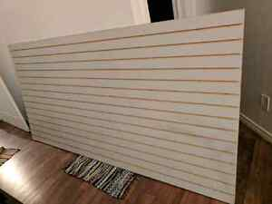Slatboard (wall organization, for hanging tools, etc)