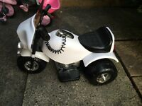 Baby's electric trike