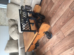Antique scale coffeetable