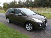 2010 10 Peugeot 3008 Crossover Sport 1.6 VTi ONLY 52K, 12 MONTH MOT AND WARRANTY