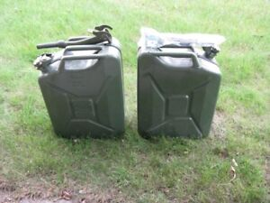 New Military Jerry Can
