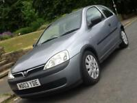 2003 Vauxhall Corsa 1.0i 12v Active 3 Door