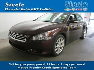 2014 Nissan MAXIMA SV....3.5L 290 HP w/Leather