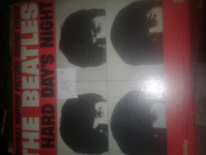 record albums set of 5 Beatles