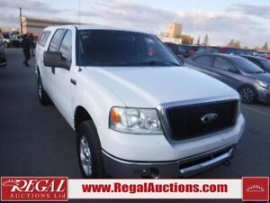 2007 Ford F150  4D SUPERCREW 4WD