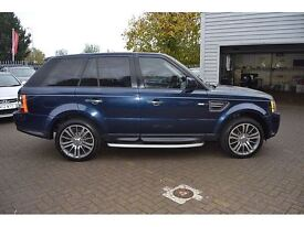 Land Rover Range Rover Sport 3.0 TDV6 HSE AUTO 4WD (blue) 2010