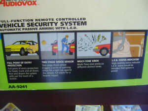 Audio Security By Audiovox