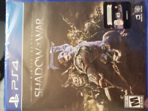 Middle Earth: Shadow of War PS4