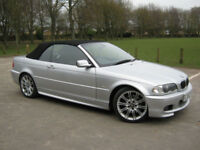 2002 02 REG BMW 330 3.0 auto Ci Sport CONVERTIBLE (SATELLITE NAVIGATION)