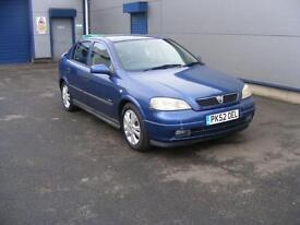 2002 Vauxhall Astra 1.6 i 16v SXi 5dr