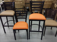 Metal Frame RESTAURANT CHAIRS / Bistro chairs / BARSTOOLS