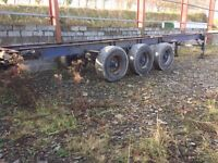 45ft trailer chassis and wheels