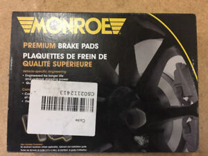"""Monroe"" brake pads for Toyota RAV4"