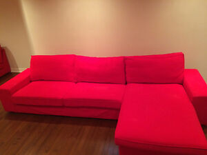 Sectional sofa for sale/ Canapé et méridienne a vendre