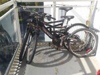 2 Raleigh Tora Bikes