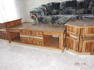 coffee and end tables Campbell River Comox Valley Area image 1