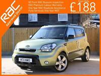 2011 Kia Soul 1.6 CRDI Turbo Diesel Searcher Auto Bluetooth Full Leather Heated