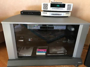 TV AND TV ELECTRONICS STAND