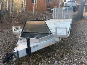 25foot 2007 Express Aluminum Flat Deck Trailer