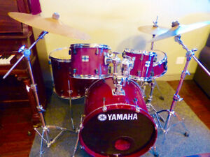 "Yamaha ""Stage Custom"" Drum Kit"