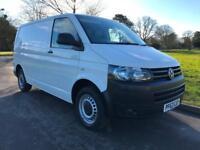 Volkswagen Transporter T5 T28 TDI P/V STLINE White Van